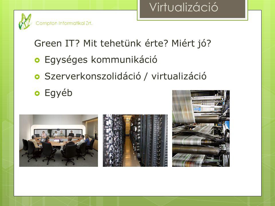 Green IT. Mit tehetünk érte. Miért jó.