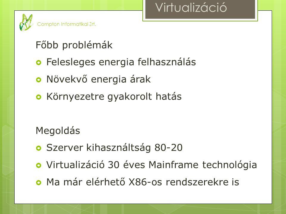 Mi a virtualizáció.