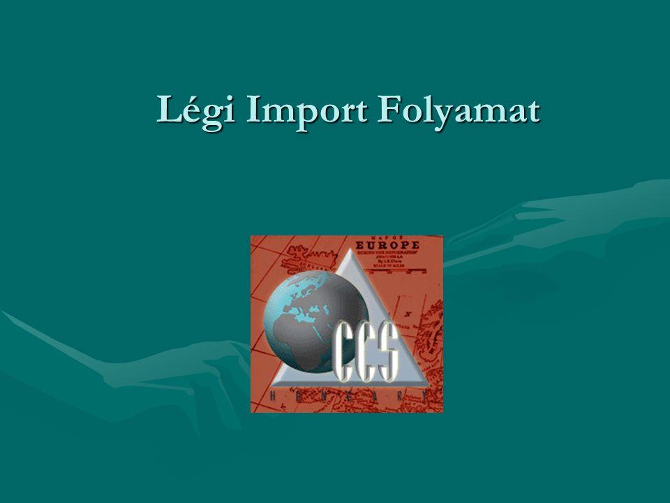 Légi Import Folyamat