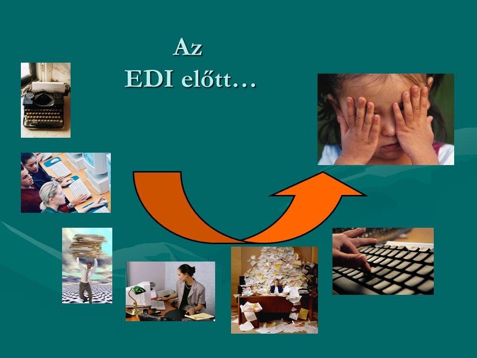 Az EDI előtt…
