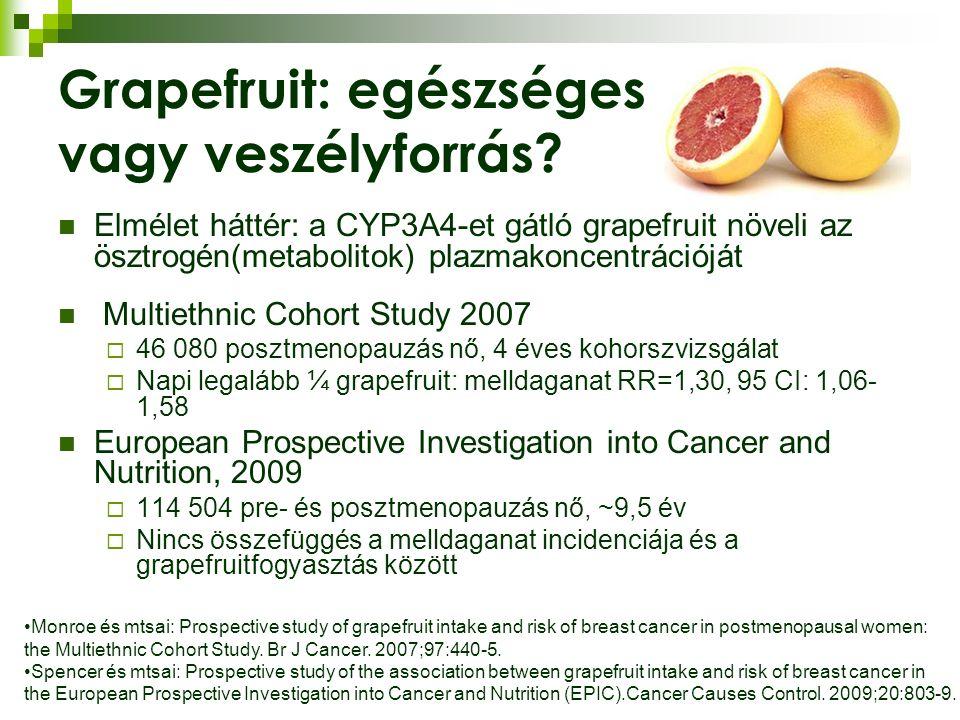 Grapefruit: egészséges vagy veszélyforrás.