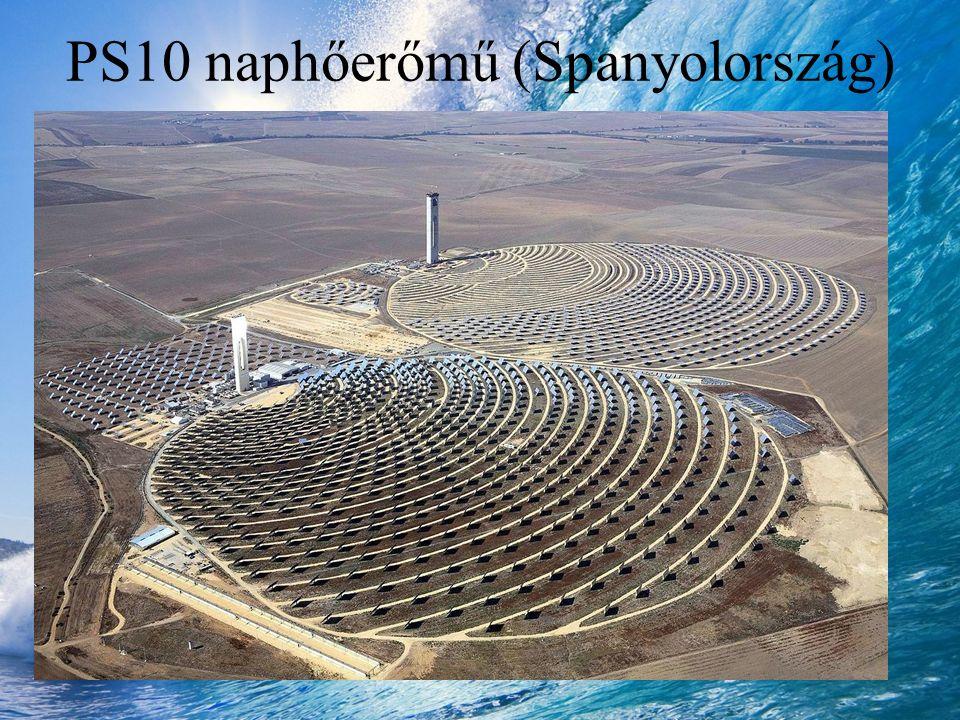 PS10 naphőerőmű (Spanyolország)
