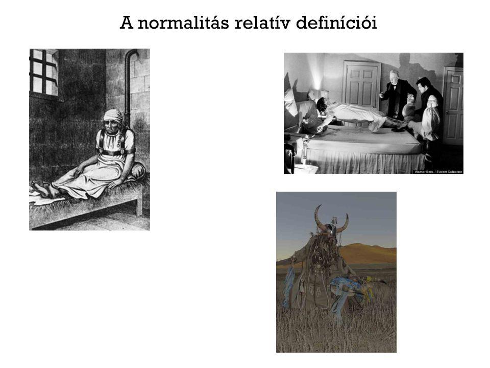 A normalitás relatív definíciói