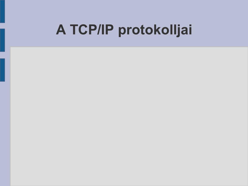 A TCP/IP protokolljai