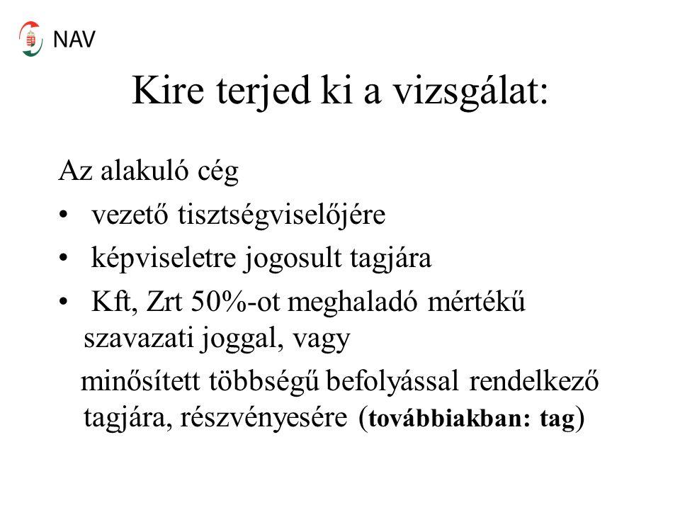 NAV-hoz bejelentendő – II.