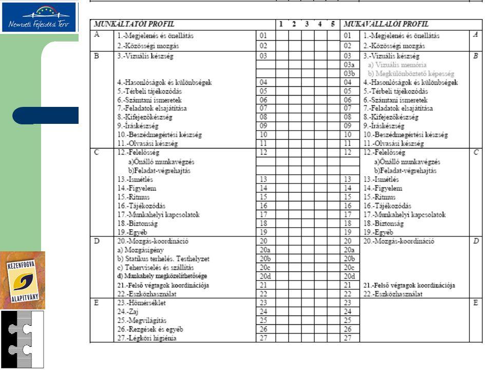 Munkavállaló felmérése- teszt 6.