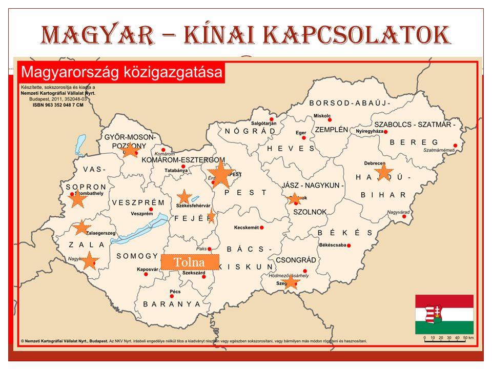 Magyar – Kínai kapcsolatok Tolna