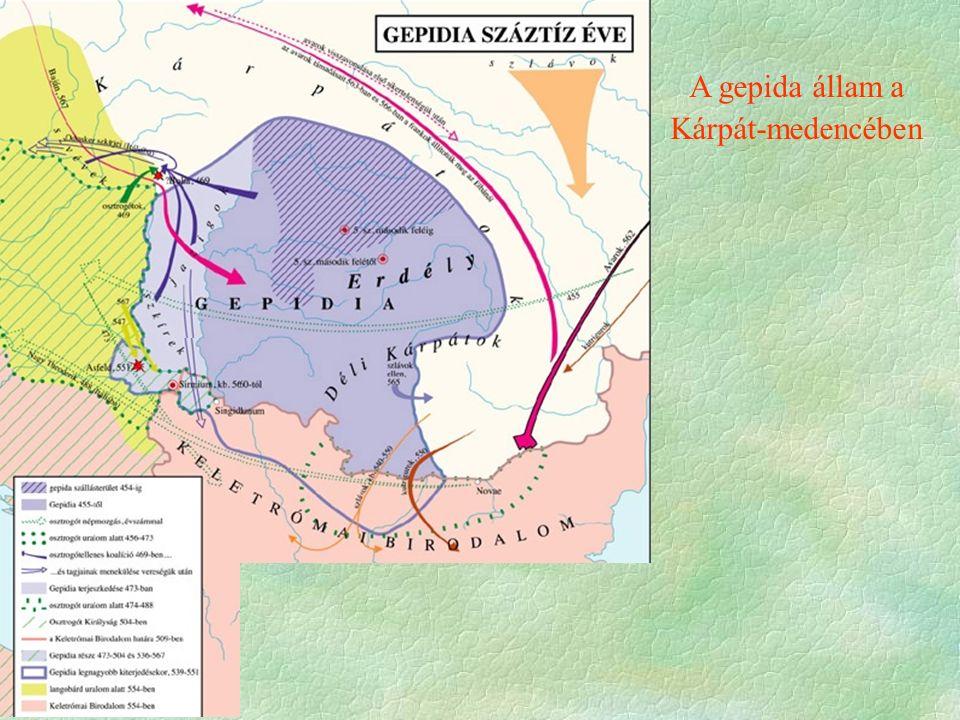 A gepida állam a Kárpát-medencében
