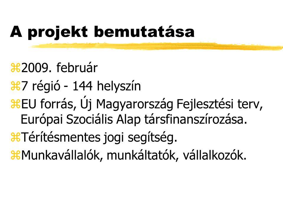 A projekt bemutatása z2009.