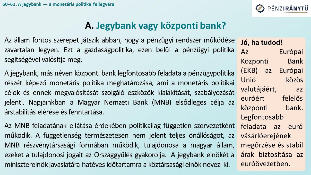 Az állam fontos szerepet játszik abban, hogy a pénzügyi rendszer működése zavartalan legyen.