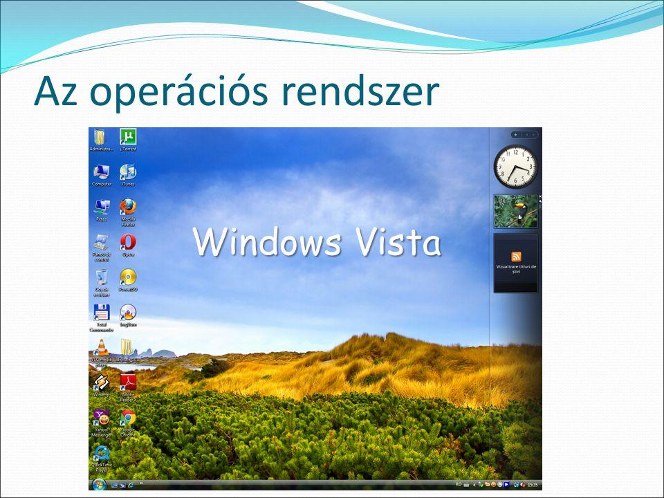 Az operációs rendszer Windows Vista