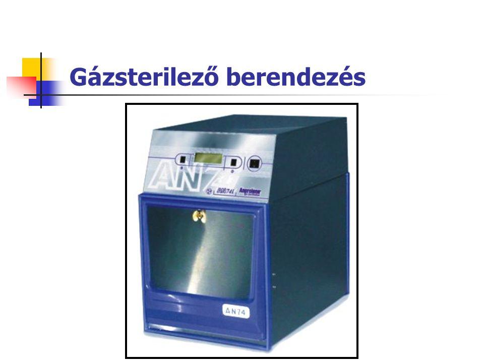 Gázsterilező berendezés