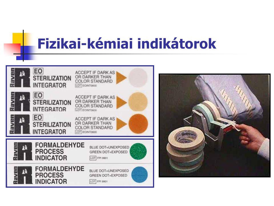 Fizikai-kémiai indikátorok