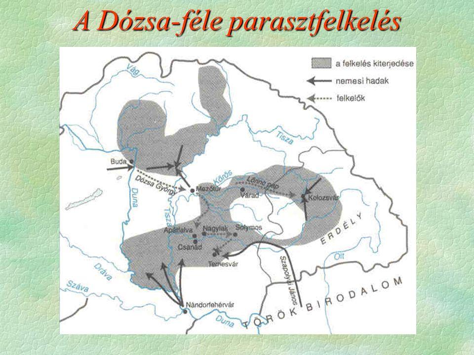 A Dózsa-féle parasztfelkelés