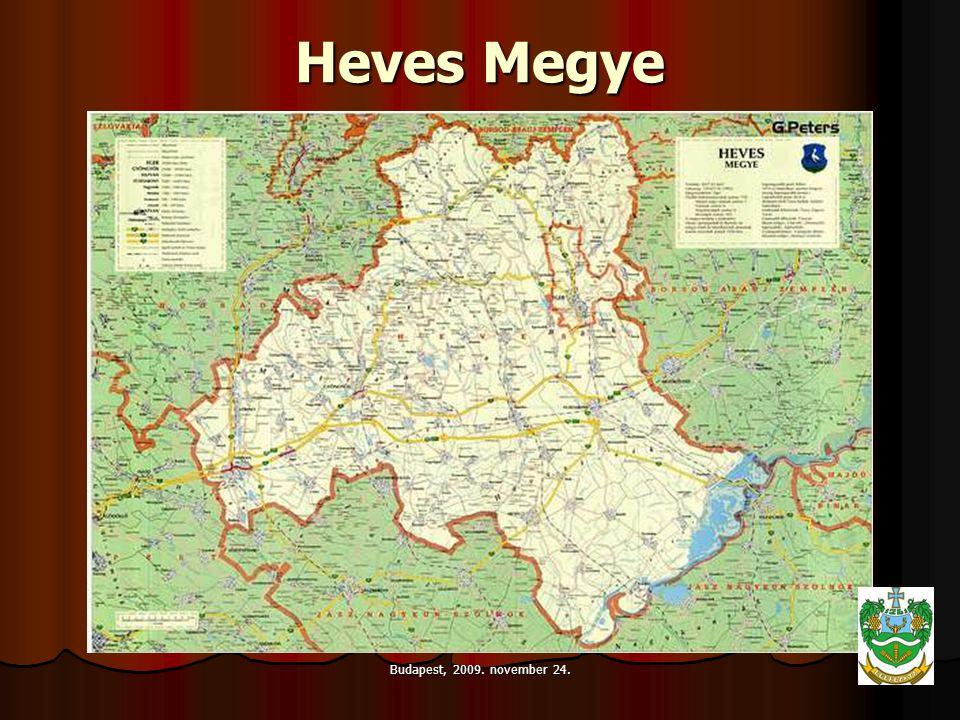 Budapest, 2009. november 24. Heves Megye