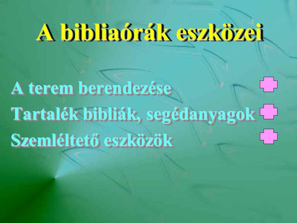 MegbeszélésMegbeszélés A bibliaóra lényeges jellemzője (!) (!) A beszélgetés irányítása (!) (!) Ellenvéleményes indítás Csoportos megbeszélés (!) (!) Személyes vallomások indítása A bibliaóra lényeges jellemzője (!) (!) A beszélgetés irányítása (!) (!) Ellenvéleményes indítás Csoportos megbeszélés (!) (!) Személyes vallomások indítása