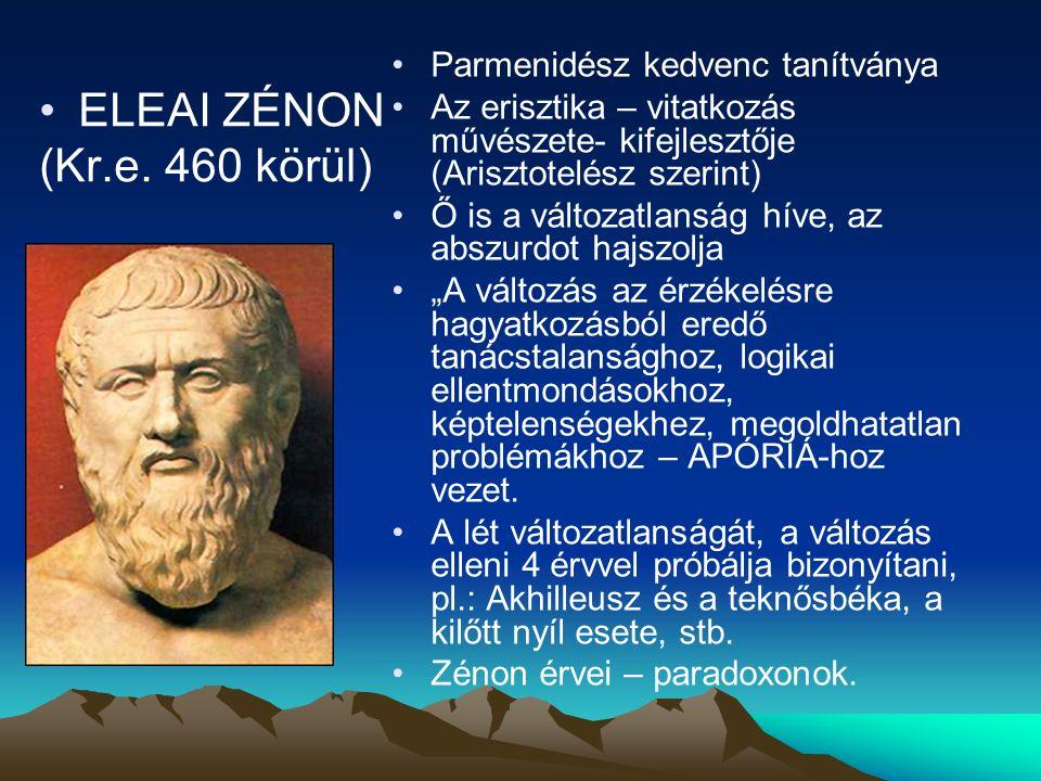 ELEAI ZÉNON (Kr.e.