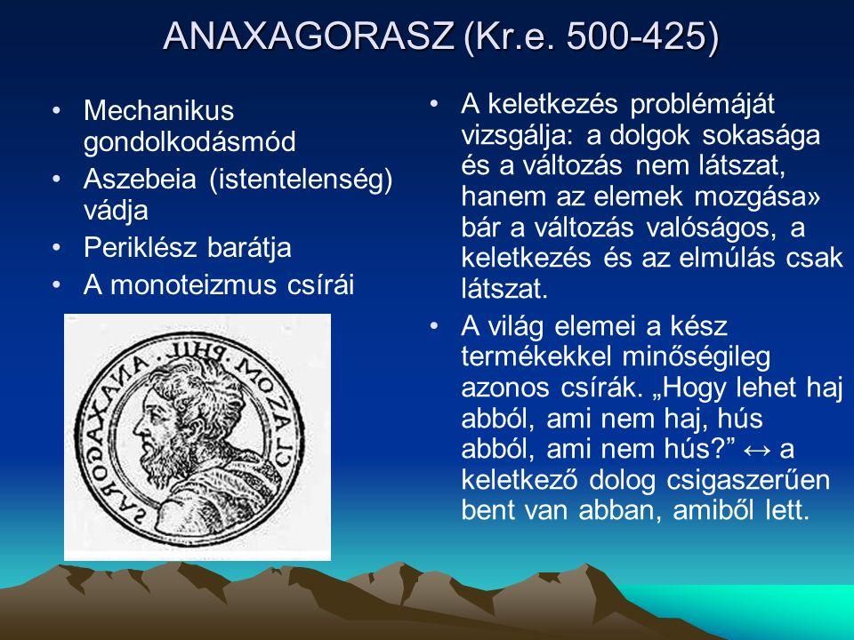 ANAXAGORASZ (Kr.e.