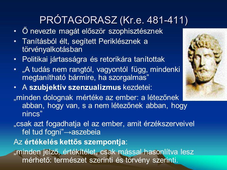 PRÓTAGORASZ (Kr.e.