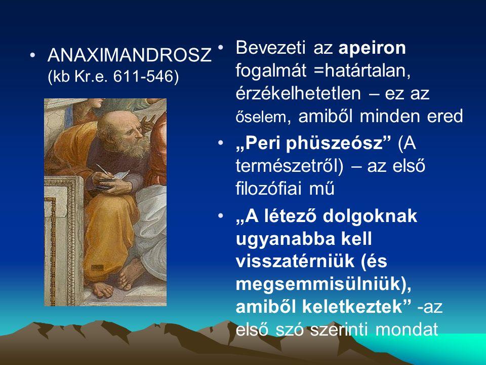 ANAXIMANDROSZ (kb Kr.e.