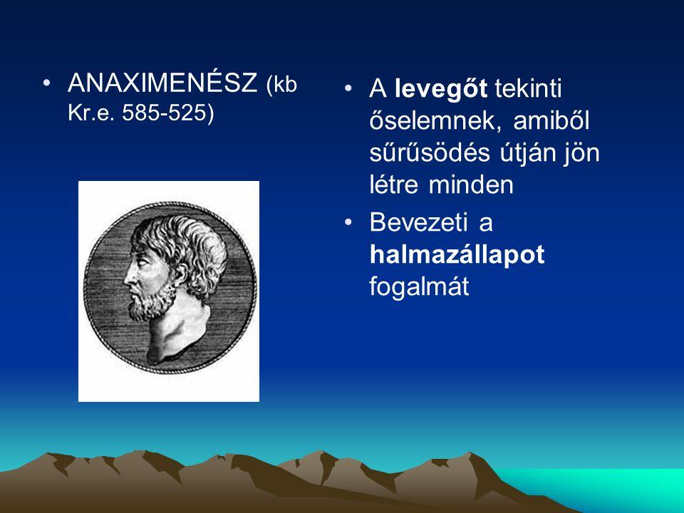 ANAXIMENÉSZ (kb Kr.e.