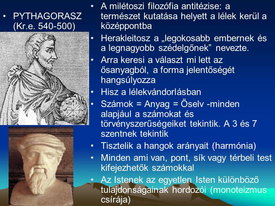 PYTHAGORASZ (Kr.e.