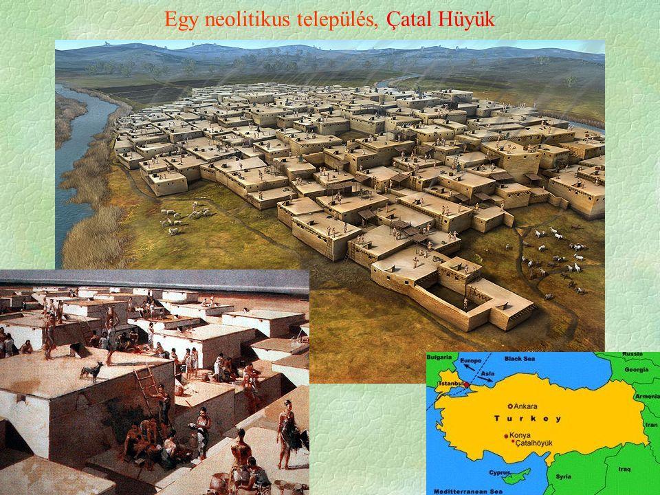 Egy neolitikus település, Çatal Hüyük