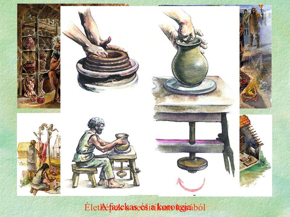 Életképek a neolitikum korából A fazekas és a korongja