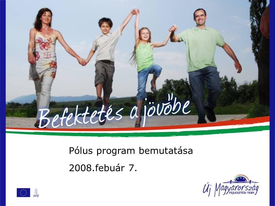 Pólus program bemutatása 2008.febuár 7.