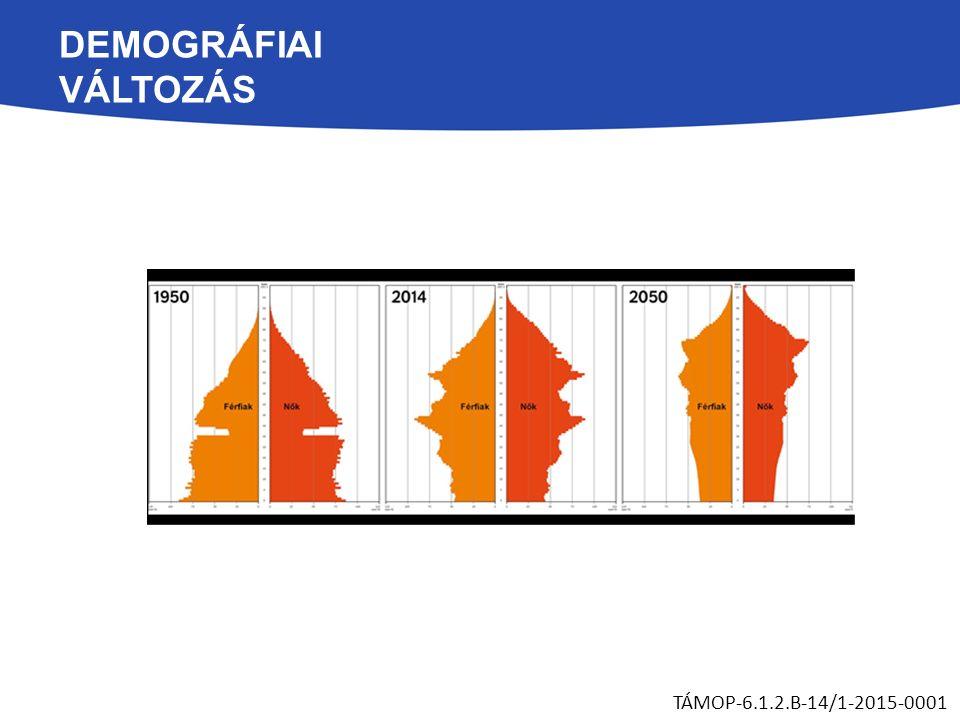 DEMOGRÁFIAI VÁLTOZÁS TÁMOP-6.1.2.B-14/1-2015-0001