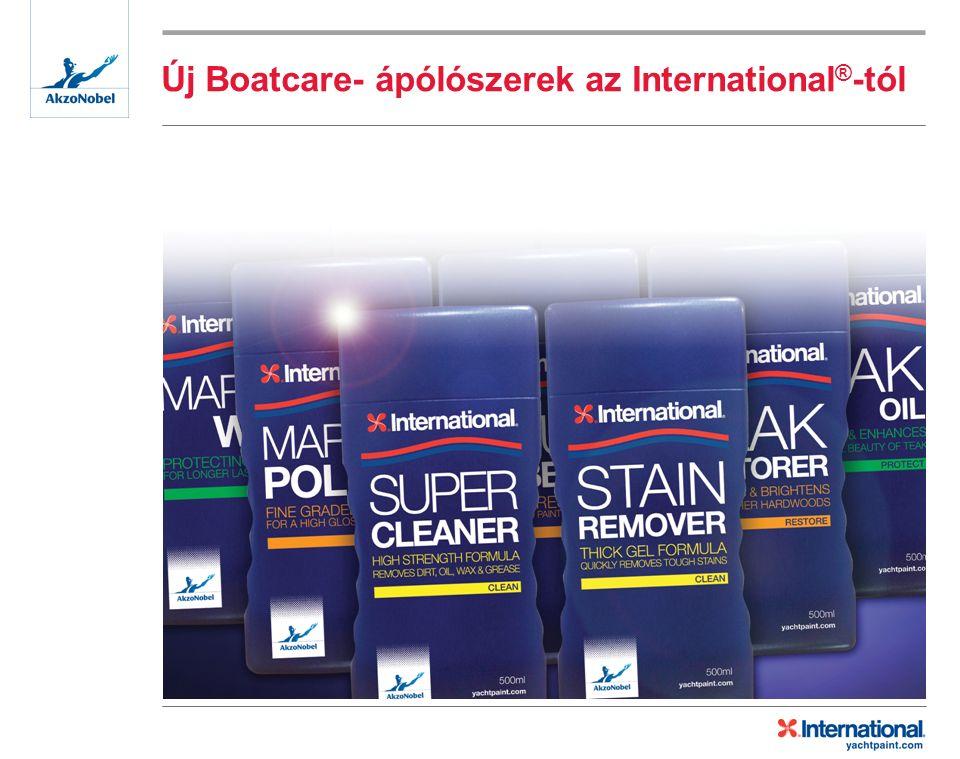 Új Boatcare- ápólószerek az International ® -tól