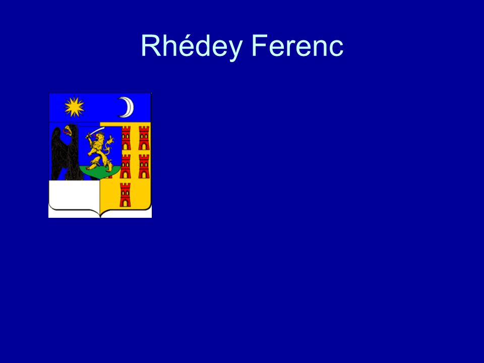 Rhédey Ferenc