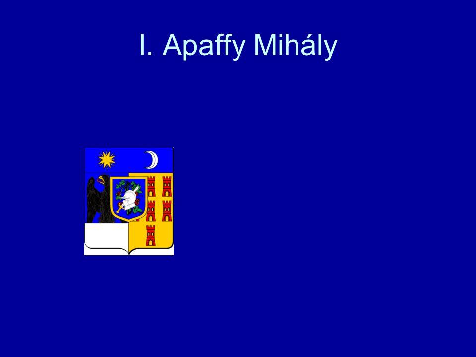I. Apaffy Mihály