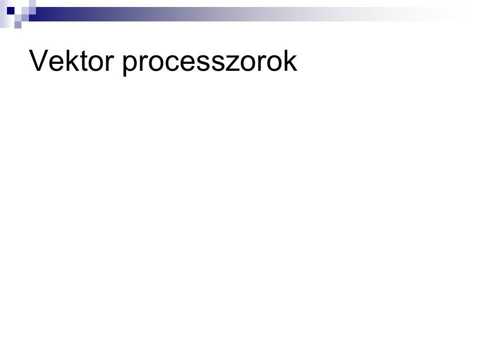 Vektor processzorok