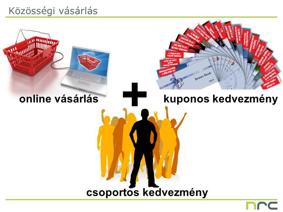 + Közösségi vásárlás online vásárlás csoportos kedvezmény kuponos kedvezmény