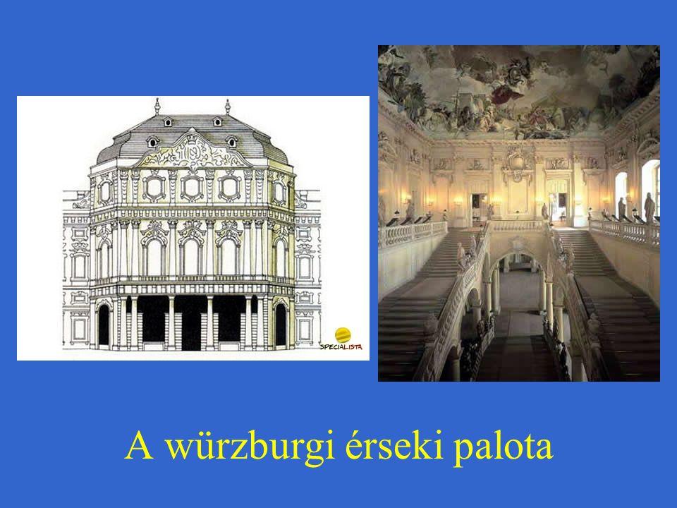 A würzburgi érseki palota