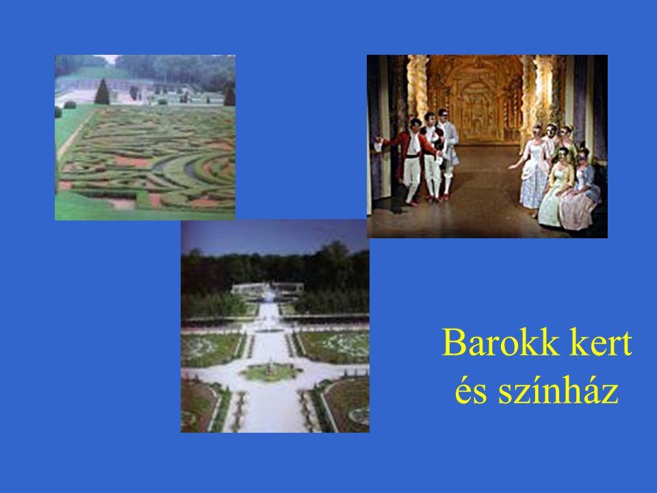 Barokk kert és színház