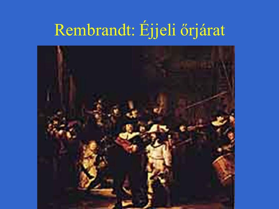 Rembrandt: Éjjeli őrjárat