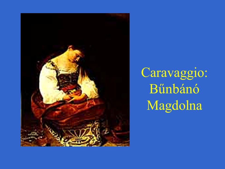 Caravaggio: Bűnbánó Magdolna