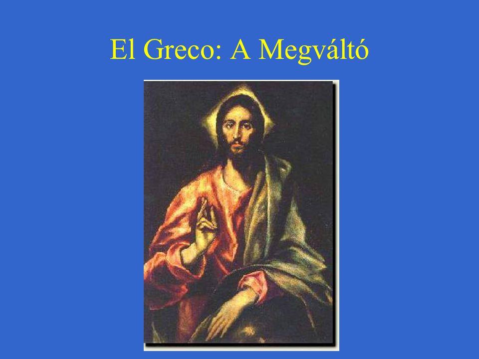 El Greco: A Megváltó
