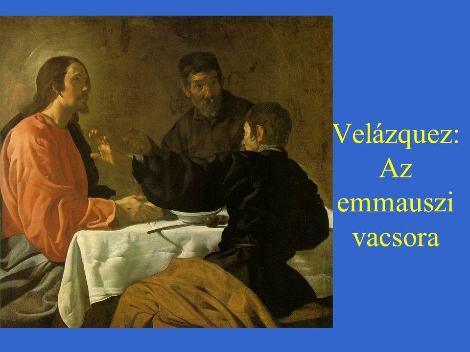 Velázquez: Az emmauszi vacsora