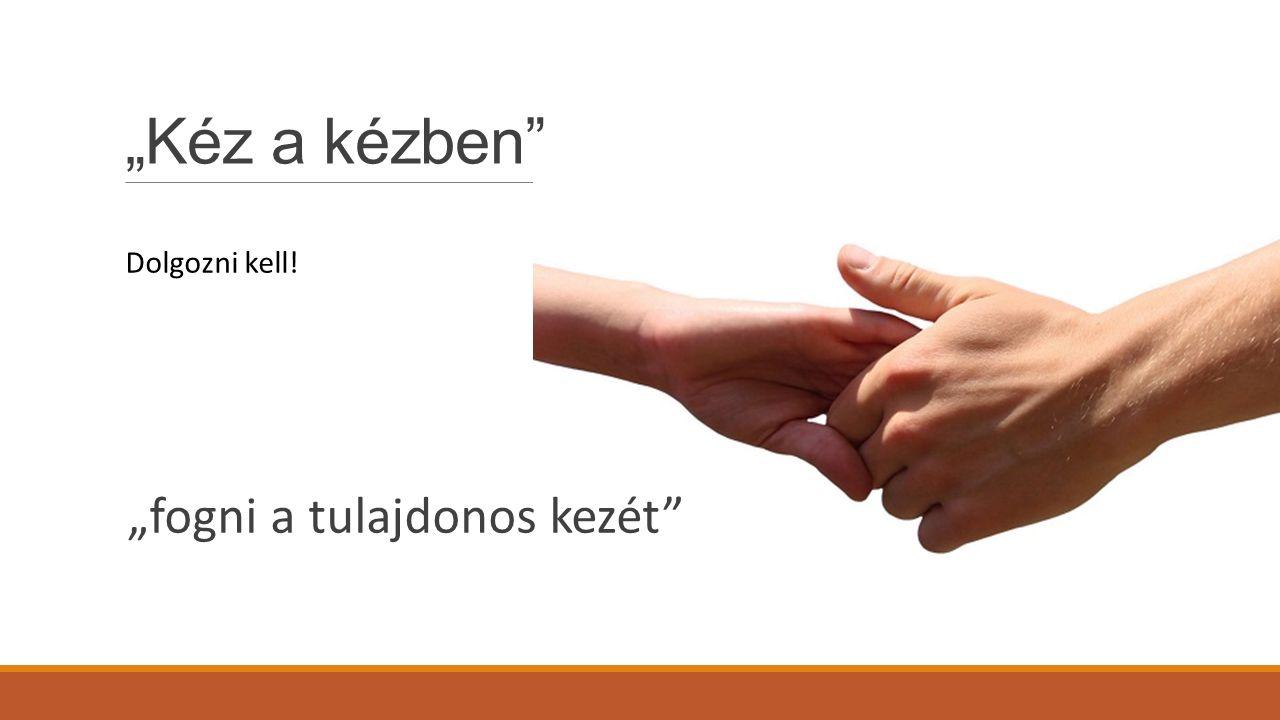 """""""Kéz a kézben Dolgozni kell! """"fogni a tulajdonos kezét"""