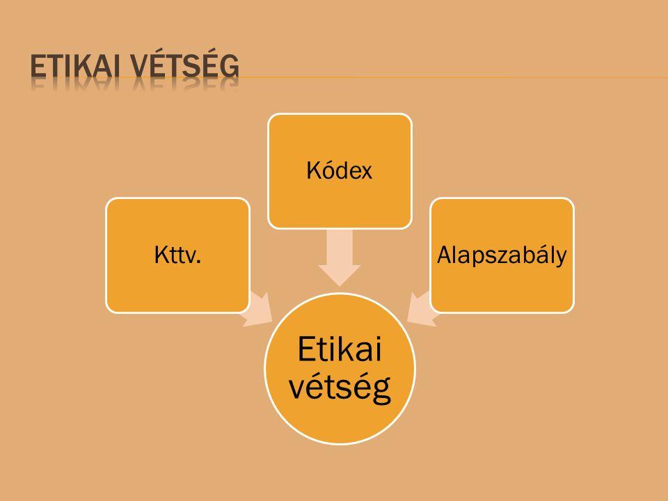 Kttv.KódexAlapszabály