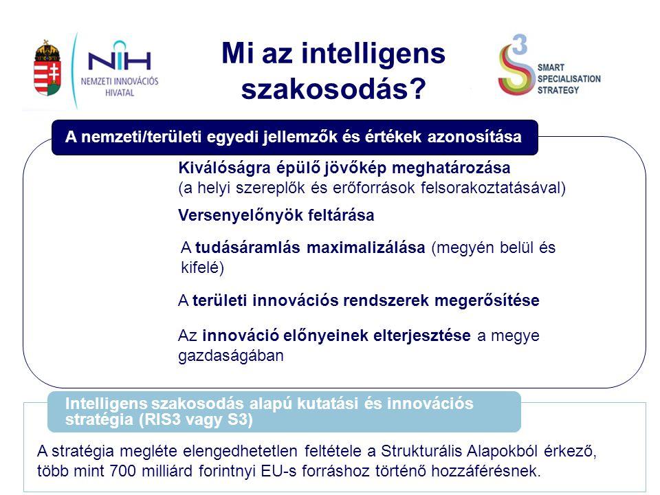 Az S3-hoz köthető eddigi tevékenységek Befektetés a Jövőbe Nemzeti Kutatás-Fejlesztési és Innovációs Stratégia 2014-2020 (2013.