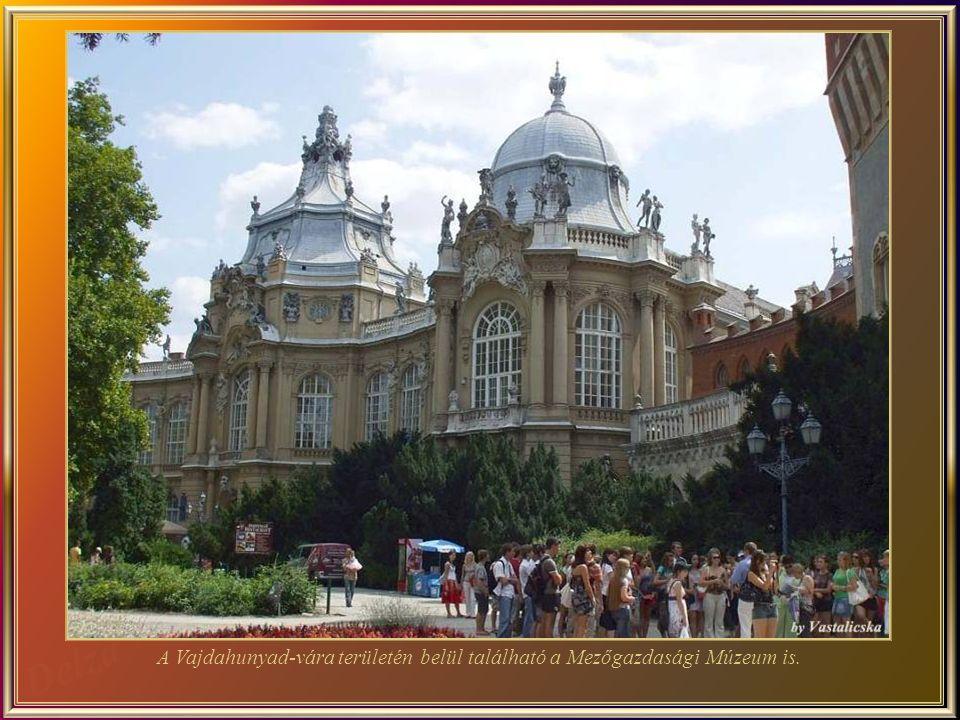 Vajdahunyad-vára – egy építészeti remekm ű az úgynevezett Duna gyöngyszeme .