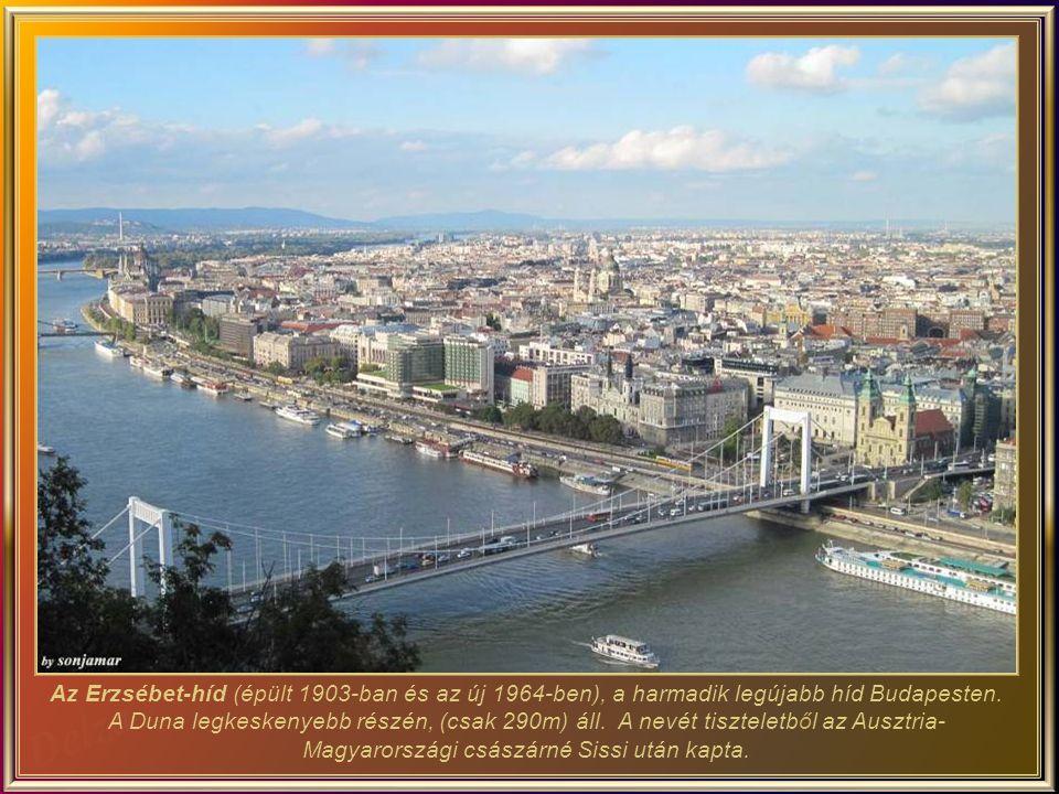 A folyó ezen oldalán, a Lánchíd és Erzsébet híd közötti rakpartról hajóútra lehet induni, ami egy pompás és romantikus vacsorával fejeződhet be.