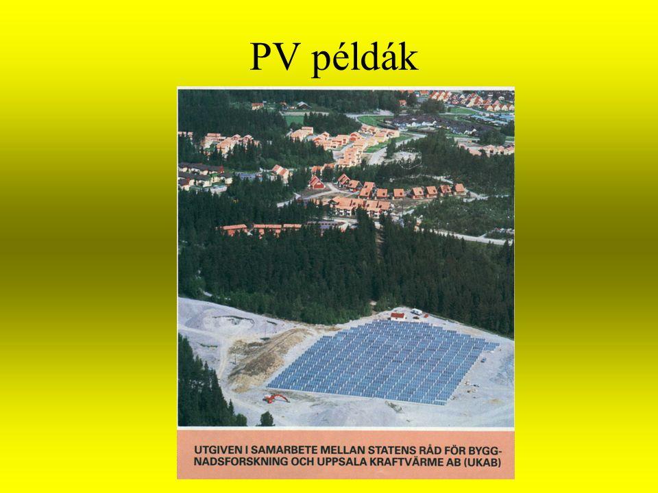 PV példák