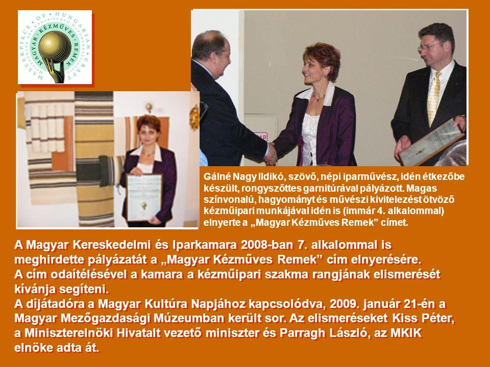 A Magyar Kereskedelmi és Iparkamara 2008-ban 7.