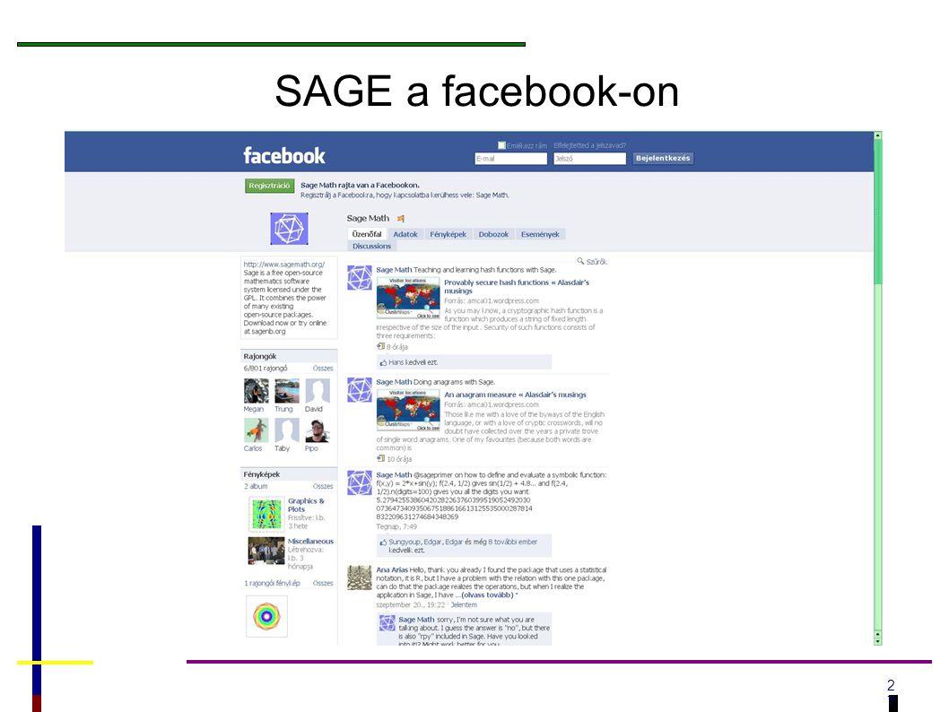 2727 SAGE a facebook-on