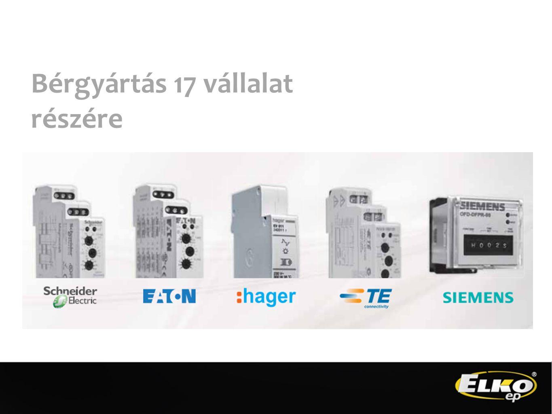 Termékek: iNELS RF Control – vezeték nélküli rendszer iNELS BUS System – épületautomatizálási rendszer LOGUS ⁹⁰ - kapcsolók és dugaljak LED fényforrások és kiegészítők
